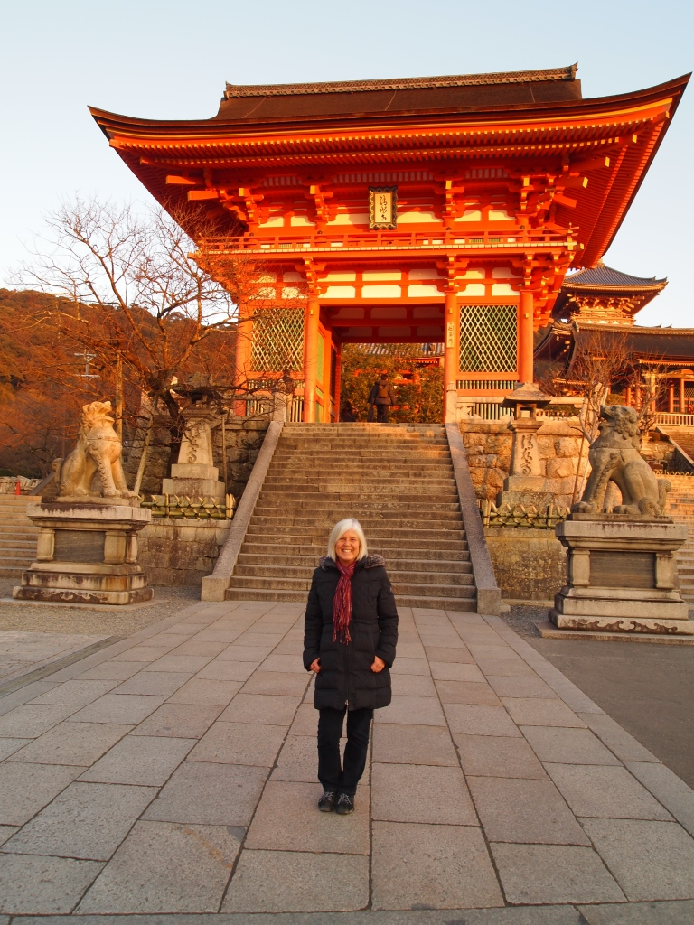 me in front of kiyomizu-dera temple