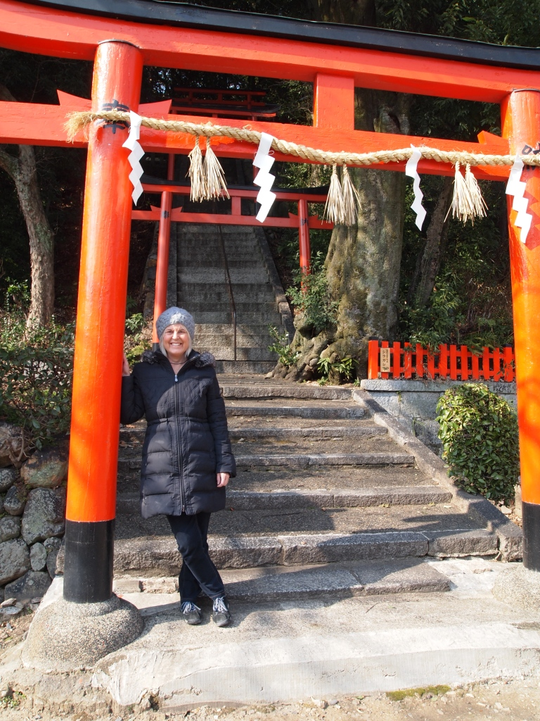 at Takeisao Shrine gate