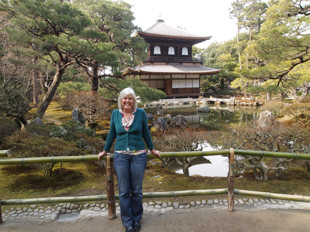 me at Ginkaku-ji