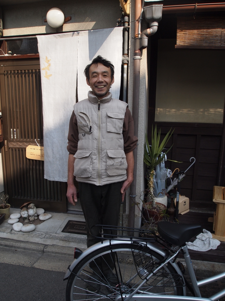 the hippie japanese guesthouse owner