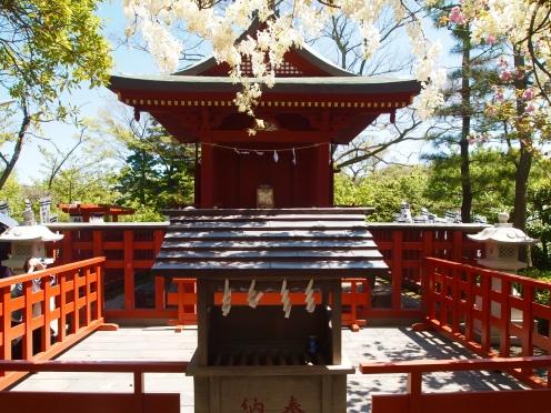 shrine to the Shinto deity Benten