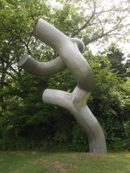 tree trunk sculpture