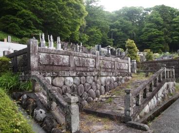 cemetery at Choanji