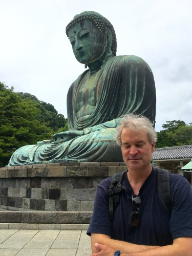 Daibutsu and meditating Tobi