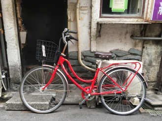 bicycle at Golden Gai