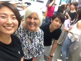 Sayuri, me and Shoma