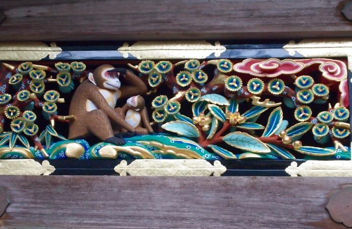 monkey carvings