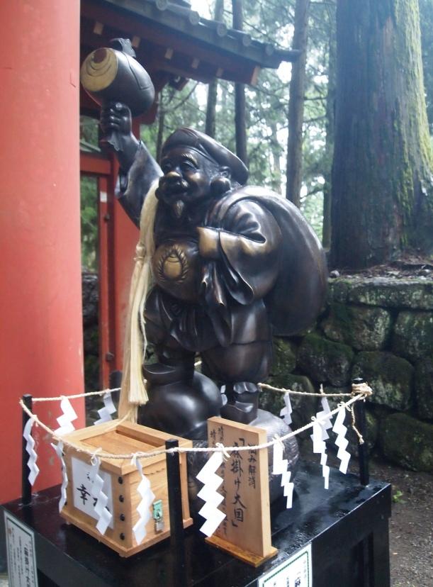 figure at Futarasan