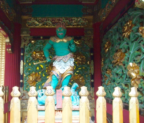guardian deities at Taiyuin