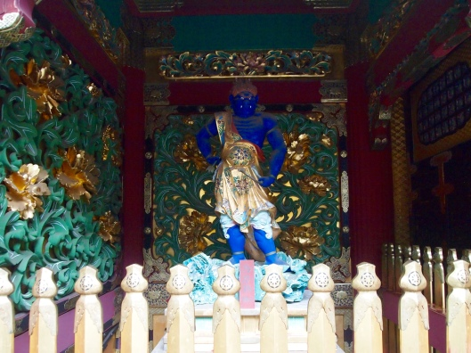 guardian deities at Taiyuin