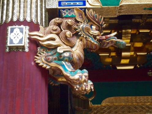 details at Rinnoji Taiyuin Temple
