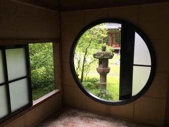 view of stone lantern