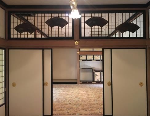 interior of Tamozawa Imperial Villa
