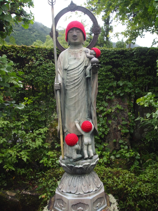 Buddhist deity at Jokoji Temple