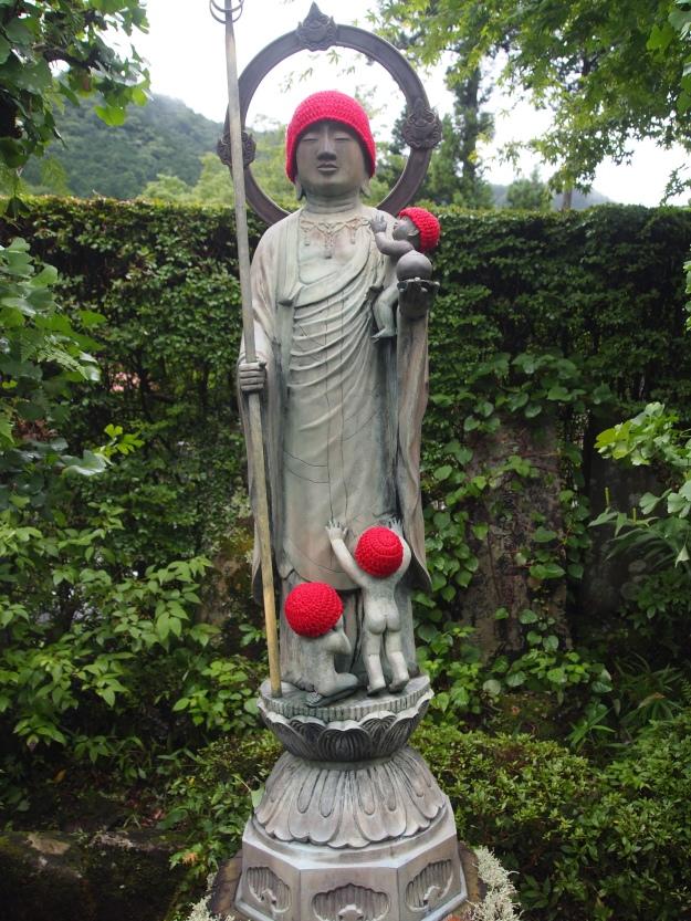 Buddhist deity at Jokoji Temple