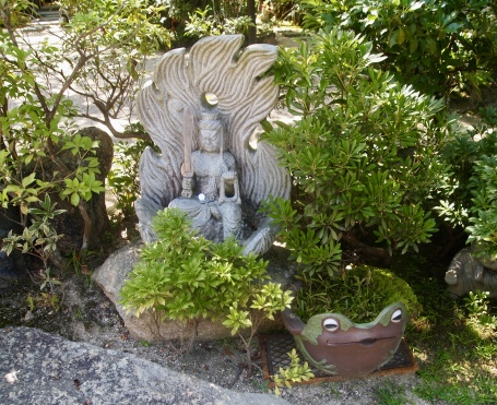 figure at Daishō-in