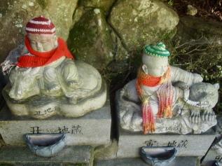Rakan statues at Daishō-in