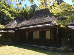 tea house at Yoshiki-en