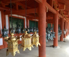 lanterns at Kasuga Taisha Shrine