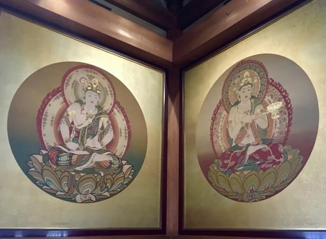 murals inside the Kondo