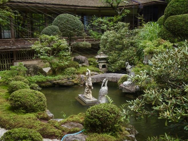 garden at Kongo Sanmaiin