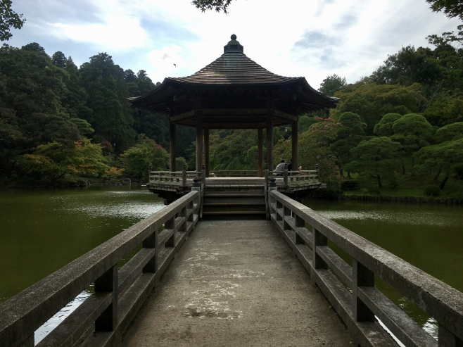 pavilion at Naritasan Park