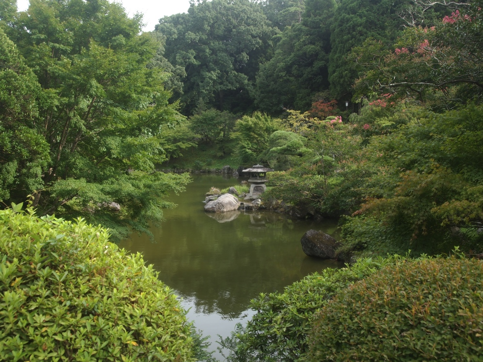 pond at Naritasan Park